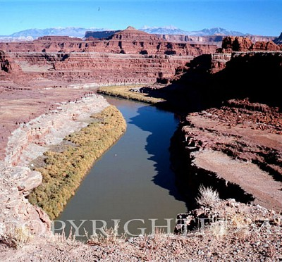 Colorado River & Valley, Colorado - Color