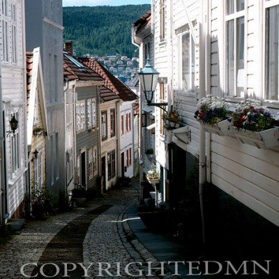 Curved Street, Norway 00 - Color