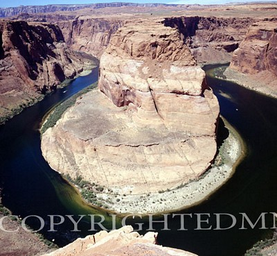 Horseshoe Bend, Colorado River, Arizona 03 - Color
