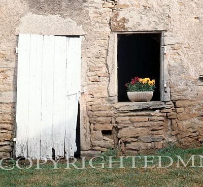 Old Door & Window, Europe - Color