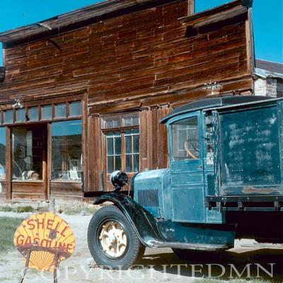 Old Gas Station, West - Color