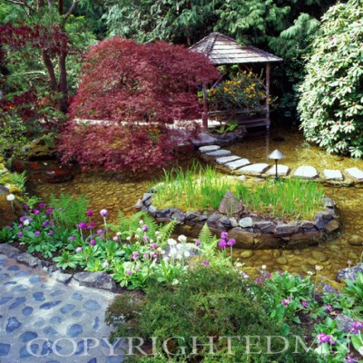 Butchart Gardens #3, Vancouver, British Columbia 07 - Color
