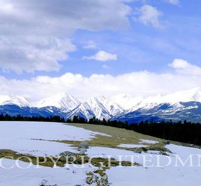 Rocky Mountain View, Colorado - Color