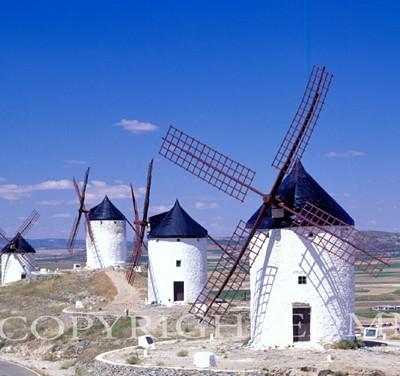 Windmills #1, Spain 97 - Color