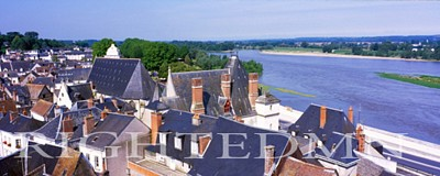 Amboise City Panorama, Amboise, France 07 - Color Pan