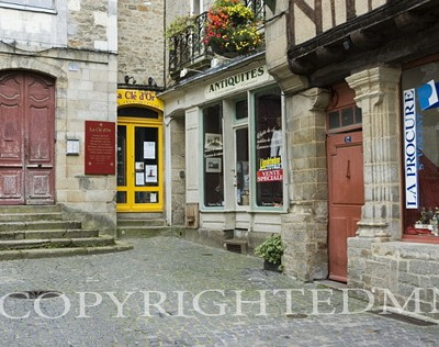 Store Fronts, Vannes, France 07 - Color