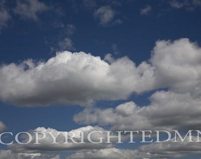 Clouds #27, Michigan 07 D- Color
