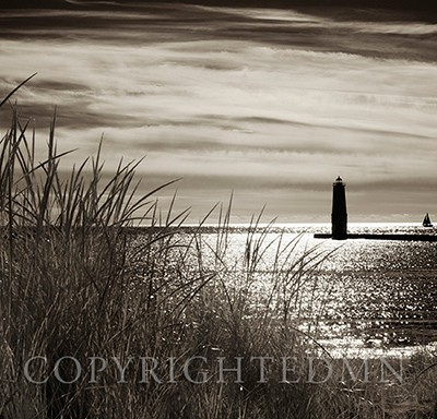 Frankfort Lighthouse, Frankfort, Michigan '13-IR