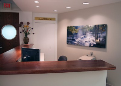 Art-behind-reception-desk