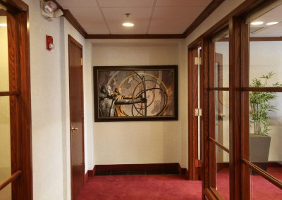 Framed-Art-on-Wall-outside-conference-room