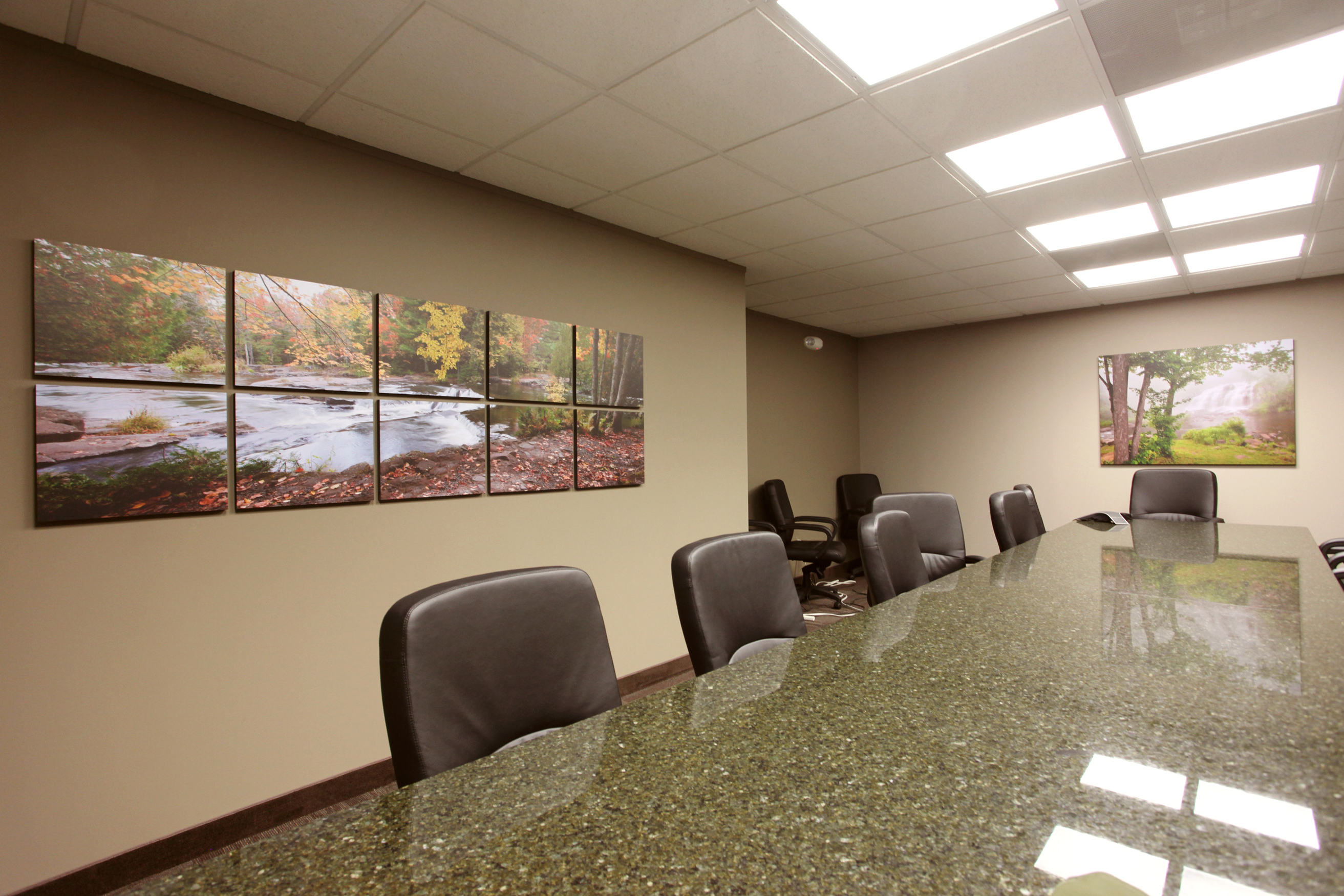 Installations fine art photography for Archispace designs architects interior consultants