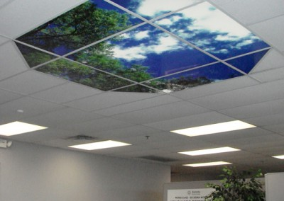 Octoganal-Ceiling-Light-Panel