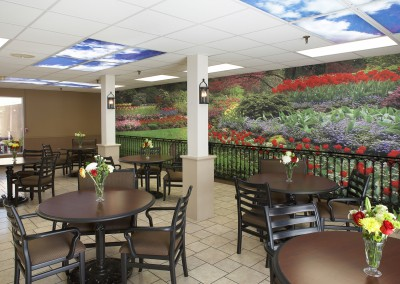 Surface-Mounted-Wall-mural-in-Senior-Center-Cafe