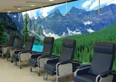 Surface-mounted-Wall-Mural-in-Infusion-Center