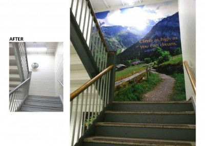 VA Jesse Brown Stairs BandA