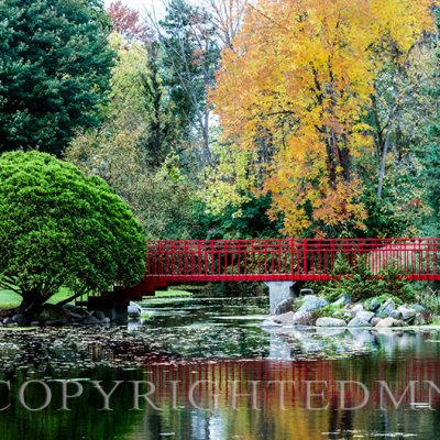 Red Bridge Reflection # 2, Traverse City, Mi. '18