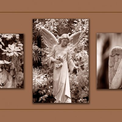 "Angel Triptych. Savannah, GA, ""99"