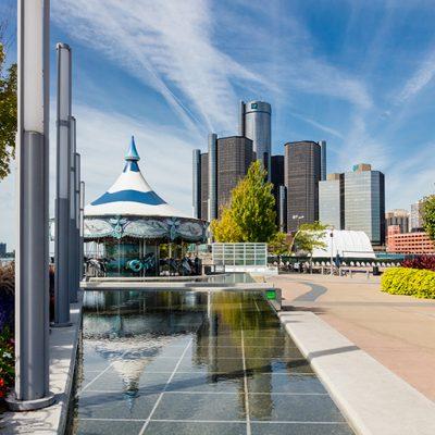 Riverwalk Reflections, Detroit, MI '19