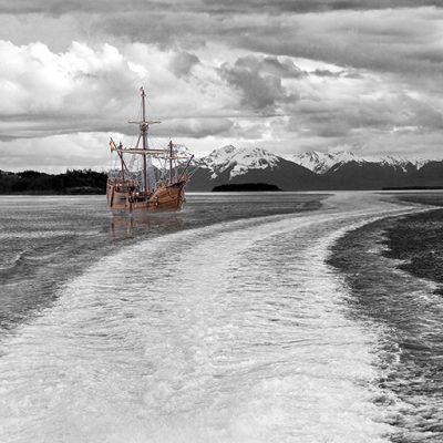 Santa Maria with Wake, Alaska
