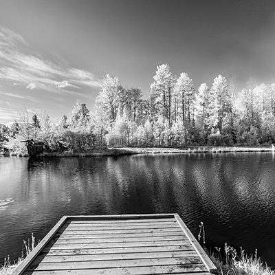 Dock at Lakenland, Marqutte. MI, '19 IR