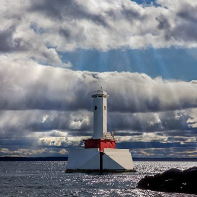 Round Island Passage Lighthouse, MI,'19