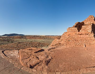 Desert Ruins Panorama, Arizona, '13